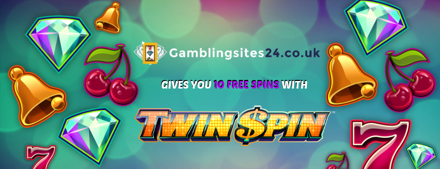 gamle online with twin spin slotmachine